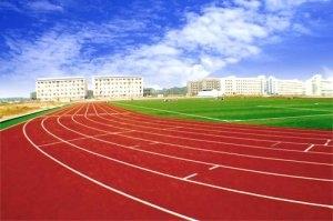 淄博工业学校透气性跑道